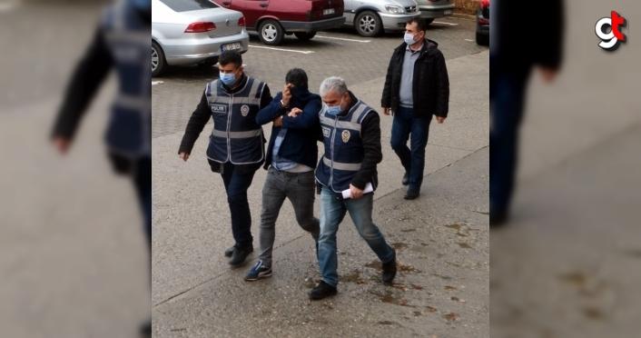 Amasya'da sahte içki üretip sattığı iddiasıyla yakalanan zanlı tutuklandı