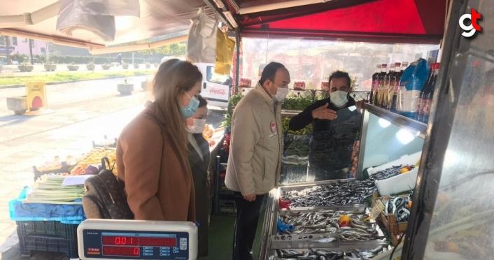 Çaycuma'da balık satış yerleri denetlendi