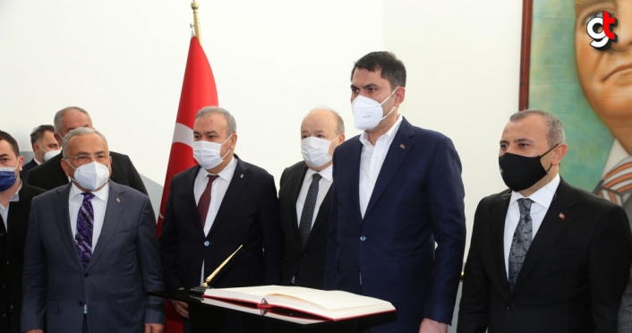 Çevre ve Şehircilik Bakanı Kurum, Ordu'da koordinasyon toplantısına katıldı