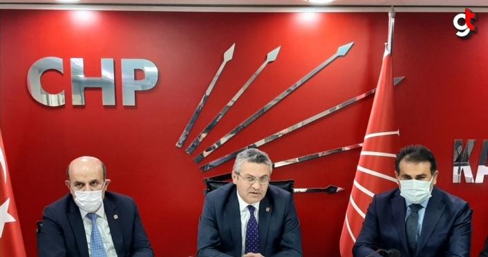 CHP Genel Başkan Yardımcısı Salıcı partisinin Karabük İl Başkanlığını ziyaret etti: