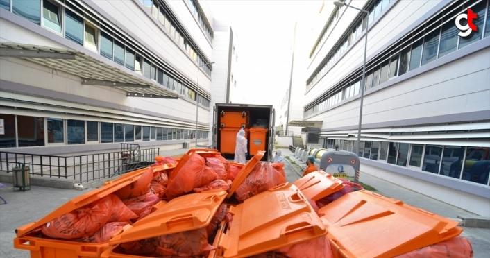 Çorum'da bir yılda 759 ton tıbbi atık bertaraf edildi