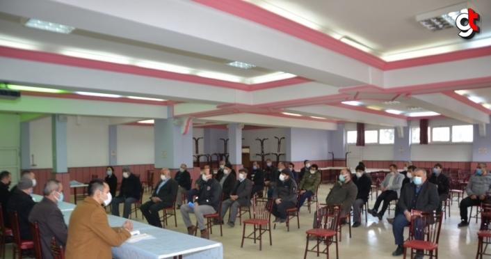 Eflani'de kırsal kalkınma desteklemeleri bilgilendirme toplantısı yapıldı