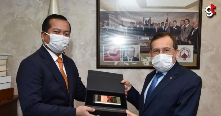 Endonezya'nın Ankara Büyükelçisi İkbal'den çikolata üretiminde iş birliği mesajı: