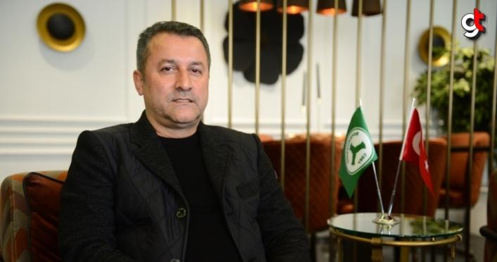 Giresunspor Kulübü Başkanı Karaahmet: