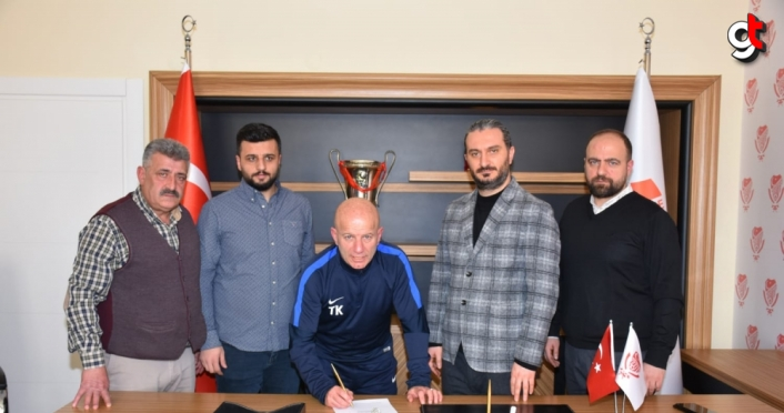 Gümüşhanespor'da teknik direktörlük görevine Tolgay Kerimoğlu getirildi