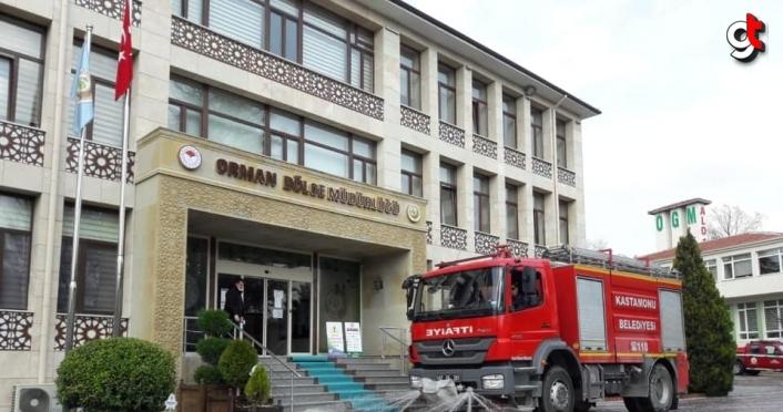 Kastamonu'da belediye ekipleri 200 bin tonun üzerinde dezenfektan kullandı