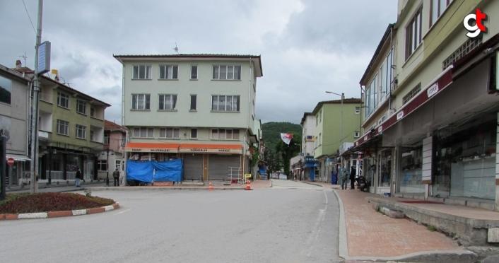 Kavak ve Ladik'te kısıtlama sonrası sessizlik hakim