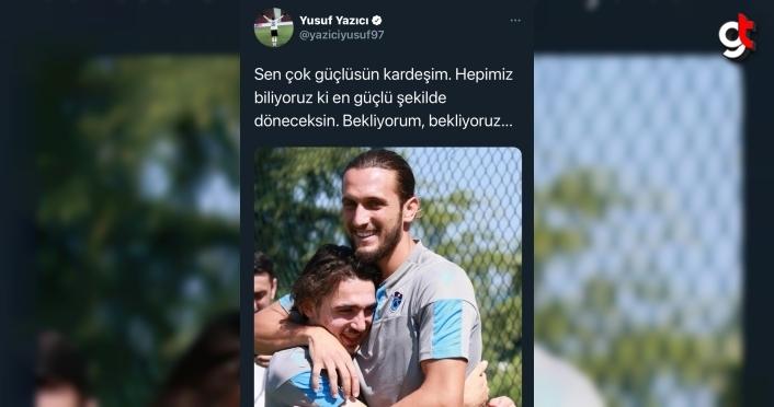 Milli futbolcu Yusuf Yazıcı'dan