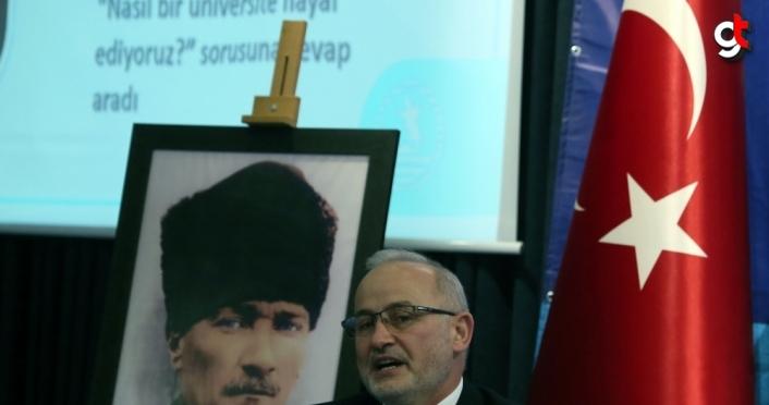 OMÜ Rektörü Prof. Dr. Ünal: ''Araştırma üniversitesi olma hedefimizi sürdürüyoruz''