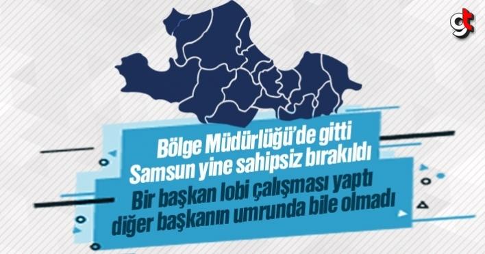 Orman Bölge Müdürlüğü'de Samsun'a gelmedi