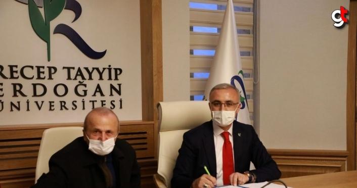 Recep Tayyip Erdoğan Üniversitesi ile HEGEM arasında