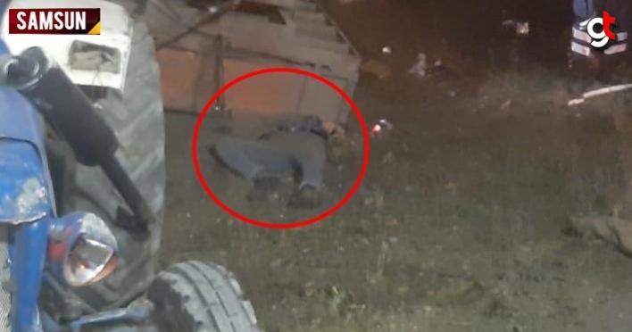 Samsun'da feci kaza, 1 ölü 1 yaralı