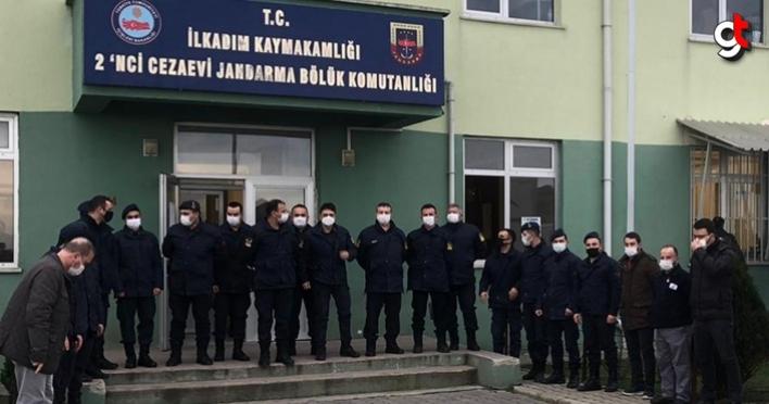 Samsun'da Jandarma'lar kan bağışında bulundu