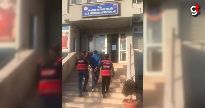 Samsun'da hakkında 7 yıl 8 ay hapis cezası bulunan hükümlü yakalandı