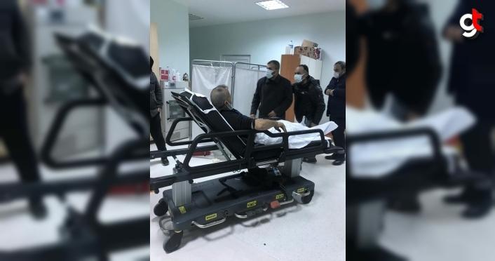 Samsun'da silahlı saldırıya uğrayan iki kardeş  yaralandı