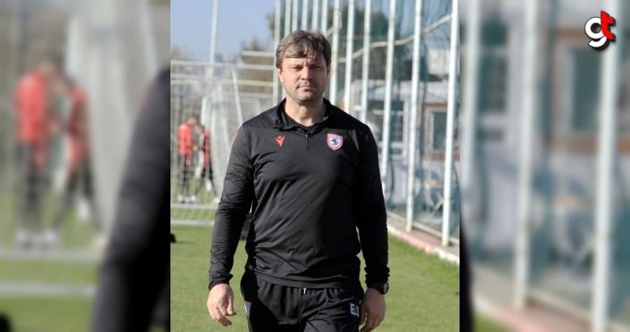 Samsunspor Teknik Direktörü Ertuğrul Sağlam, 2020 yılını değerlendirdi