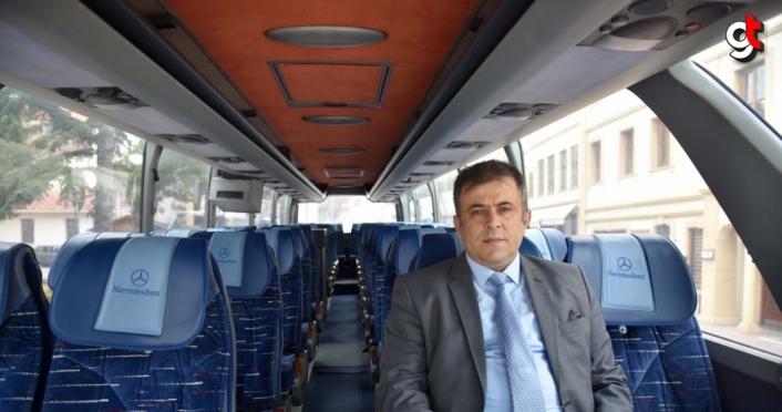 Taşköprü Belediyesine 46 kişilik otobüs alındı