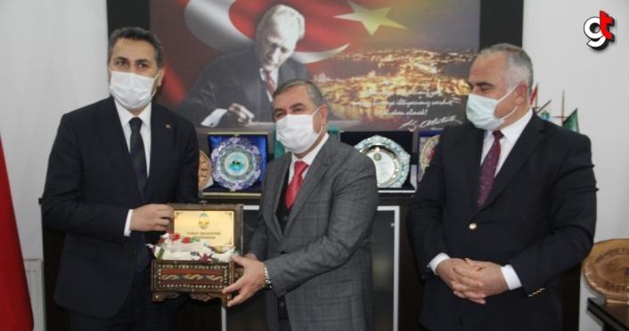 Tokat ve Erfelek belediyeleri arasında kardeşlik protokolü imzalandı