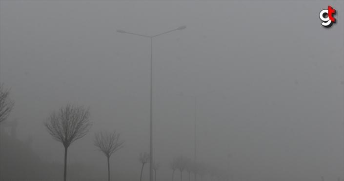 Tokat'ta sis etkili oluyor