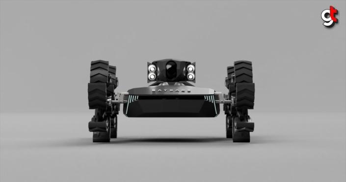 Yerli insansız kara aracı Baybars,