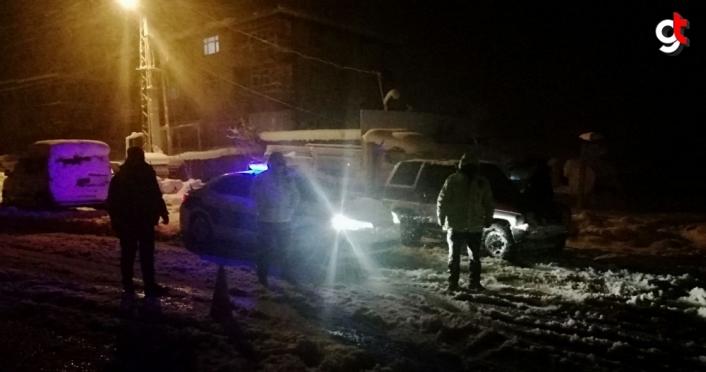 Zonguldak-İstanbul kara yolunda araç geçişine izin verilmiyor