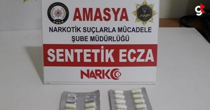 Amasya'da uyuşturucu operasyonunda 7 zanlı yakalandı