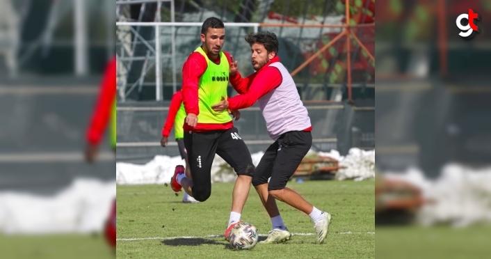 Boluspor, Balıkesirspor maçının hazırlıklarını tamamladı
