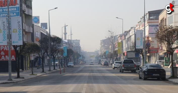 Doğu Marmara ve Batı Karadeniz'deki illerin cadde ve sokaklarında sessizlik hakim