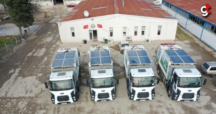 Erbaa Belediyesi hibrit kamyonlar ile yakıt tasarrufu sağlıyor