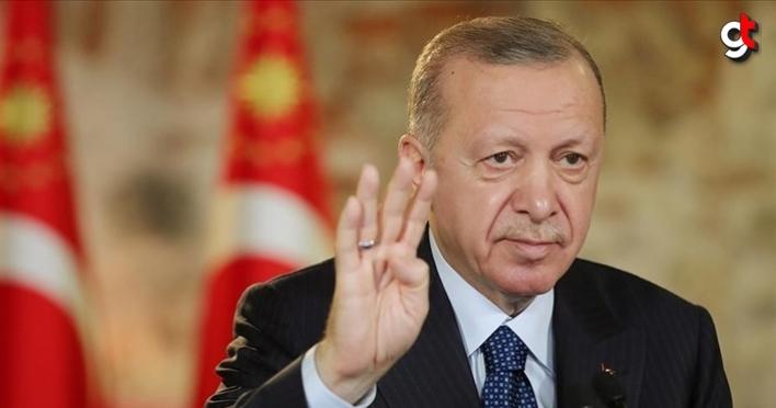 Erdoğan, 'Provokatörler vasıtasıyla ülkemizin huzurunu kaçırmaya çalışanlar hüsrana uğrayacaklardır'
