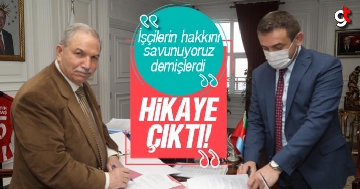 İlkadım Belediyesi'nde 700 kişinin sendika hakları gasp edildi
