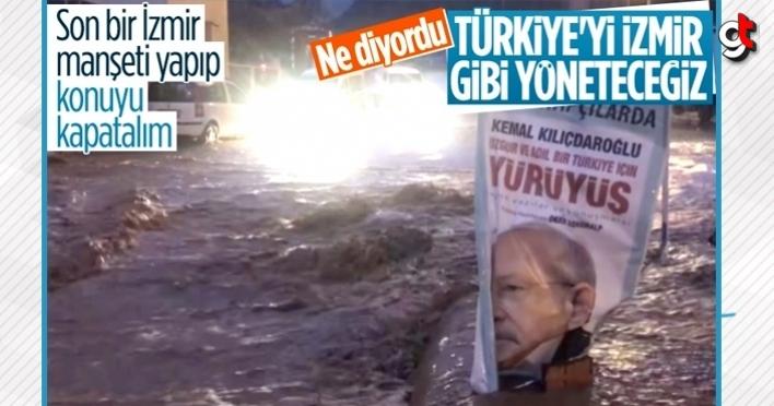 İzmir'de CHP belediyeciliğini özetleyen görüntü