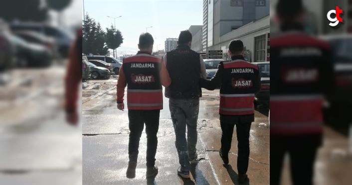 Kavak'ta hakkında 5 yıl kesinleşmiş hapis cezası bulunan kişi yakalandı