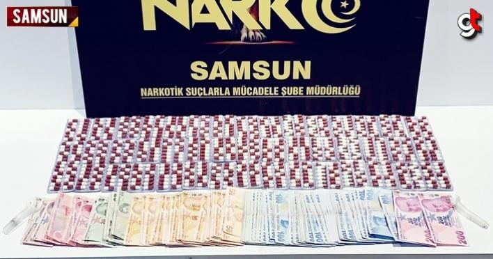 Samsun'da otele düzenlenen uyuşturucu operasyonunda yakalanan 3 şüpheli tutuklandı