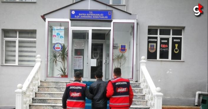 Samsun'da hakkında müebbet hapis cezası bulunan hükümlü yakalandı