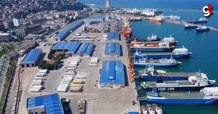 Samsun'da ihracat, ithalatı geçti
