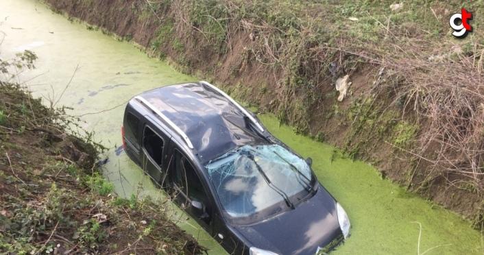 Samsun'da trafik kazaları: 7 yaralı