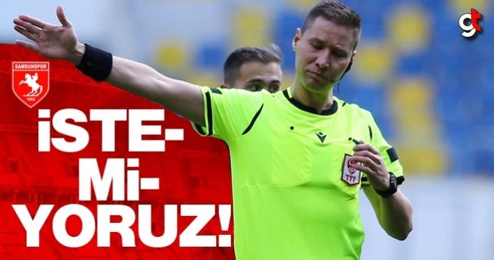 Samsunspor maçında istenmeyen hakem Turgut Doman