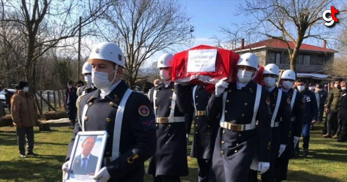 Sinop'ta yaşamını yitiren Kıbrıs gazisinin cenazesi toprağa verildi