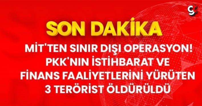Son Dakika: PKK'nın istihbarat faaliyetini yürüten 3 terörist, MİT operasyonuyla Metina'da etkisiz hale getirildi