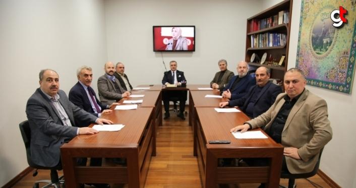 Tokat'ta sivil toplum kuruluşlarından AK Parti Grup Başkanvekili Zengin hakkındaki paylaşıma tepki