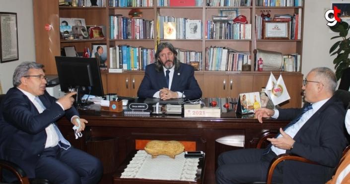 Gelecek Partisi Genel Başkan yardımcıları Üstün ve Demir, Zonguldak'ta ziyaretlerde bulundu