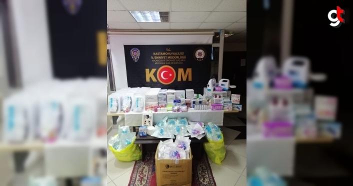 Kastamonu'da evinde 63 sağlık kurulu raporu bulunan kişi gözaltına alındı