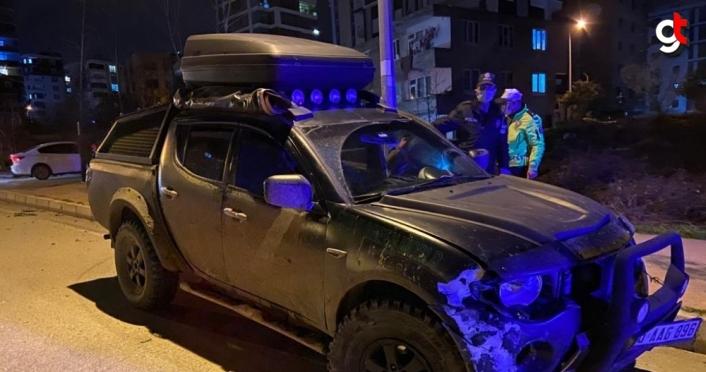 Samsun'da alkollü sürücü kaza yaptıktan sonra polislere sürücü olmadığını iddia etti