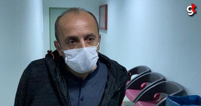 Samsun'da eski eşini darbeden zanlı adliyeye sevk edildi