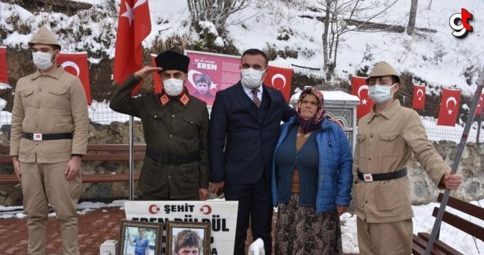 Şehit Eren Bülbül'ün annesi 8 Mart Dünya Kadınlar Günü'nde unutulmadı