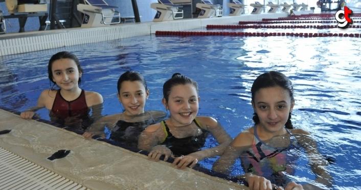 Trabzon'da kule ve tramplen atlama branşında sporcu yetiştirilmeye başlandı