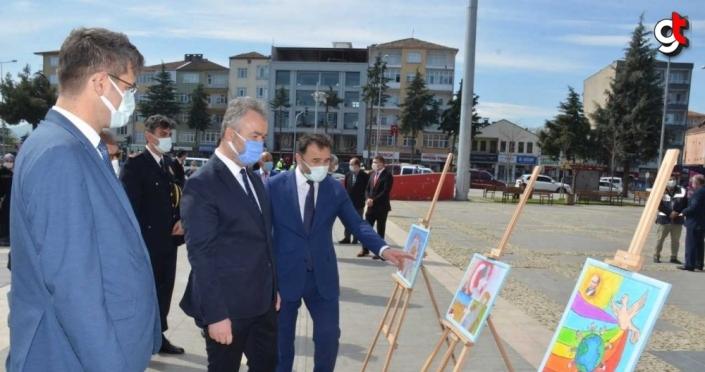 23 Nisan Ulusal Egemenlik ve Çocuk Bayramı 19 Mayıs ilçesinde törenle kutlandı
