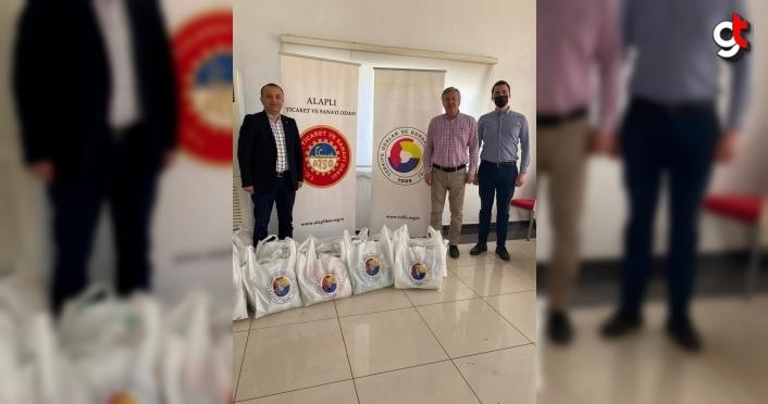 Alaplı TSO'dan 800 aileye gıda yardımı