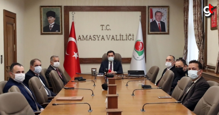 Amasya'da Salgın Tedbirleri Değerlendirme Toplantısı düzenlendi